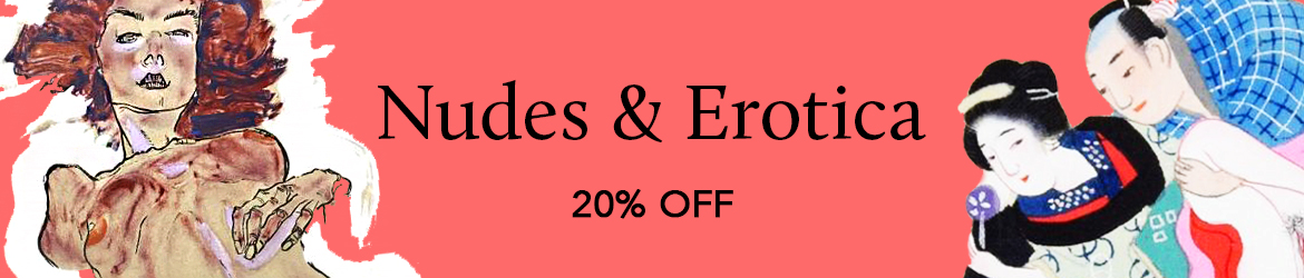 20% off all Nude Portraits and Erotica!