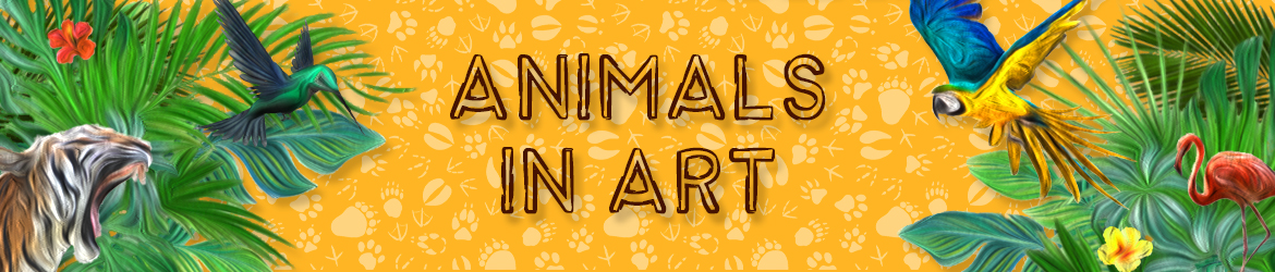 Animals In Original Artworks Online
