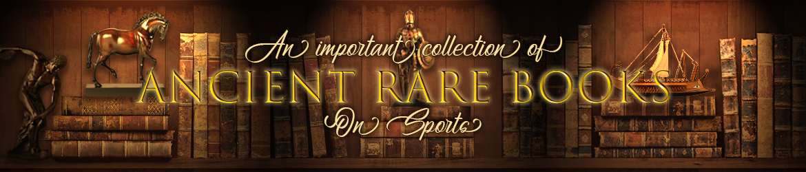 Collection of Ancient Rare Books on Sports