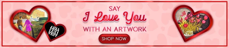 San Valentino Promotion - Original Art Gifts Ideas