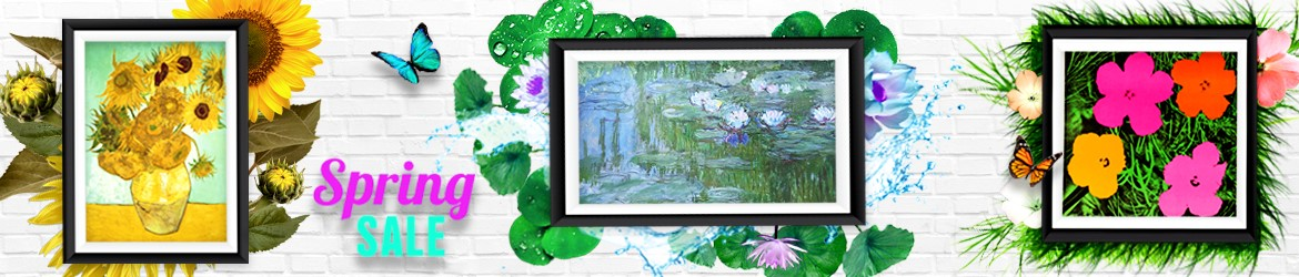 Spring Sale Promotion of Artworks