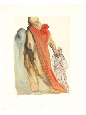 Salvador Dalì - Virgil's Admonishment - Contemporary Art