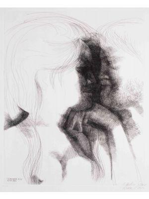 Modern Art, Artwork, Prints, Etching, Emilio Greco, Commiato N.13
