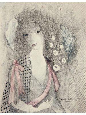 Dans les Rigieres by Marie Laurencin - Modern Artwork
