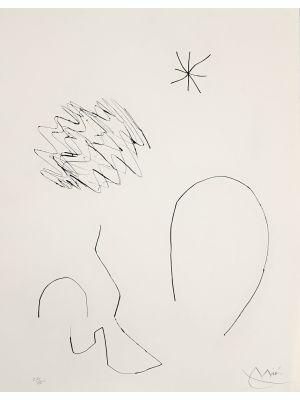 Journal D'Un Graveur - Vol. 1  Plate 13 by Joan Mirò - Surrealist Artwork