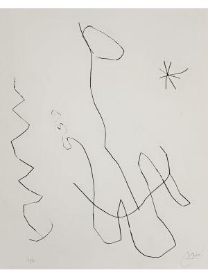 Journal D'Un Graveur - Vol. 1  Plate 11 by Joan Mirò - Surrealist Artwork