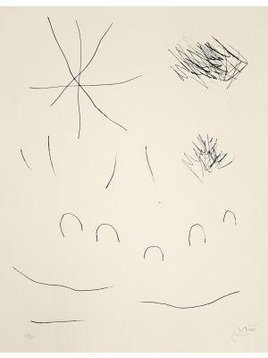 Journal D'Un Graveur - Vol. 2  Plate 10 by Joan Mirò - Surrealist Artwork