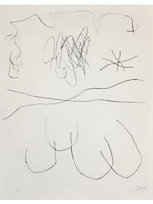 Journal D'Un Graveur - Vol. 2  Plate 3 by Joan Mirò - Surrealist Artwork