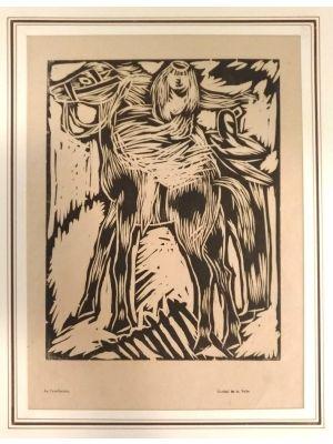 La Cavallerizza by Arturo Martini - Modern Artworks