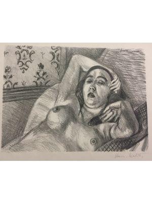 Le Repos du Modèle by Henri Matisse - Modern Artwork