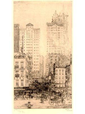 New York, Courtland Street