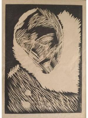 Simulacrum of Pierrot by Arturo Martini - Modern Artwork