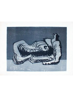 Reclining Figure by Henry Moore - Contemporary Art
