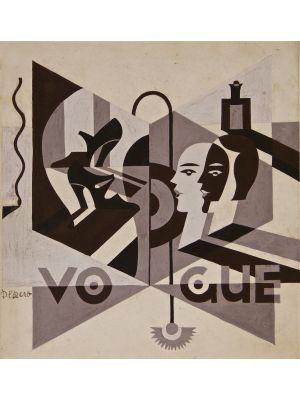 Vogue by  Fortunato Depero - Futurist artwork
