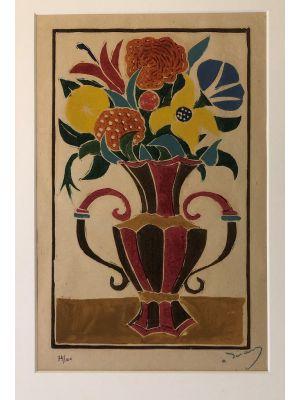Bouquet des Fleurs dans un Vas by Andrè Derain - Modern Artwork