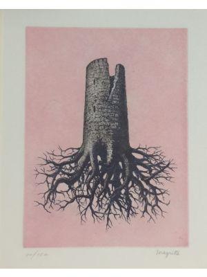 La Folie Almayer ou L'Arbre Rose by René Magritte - Surrealism