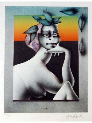 Composition di Paul Wunderlich