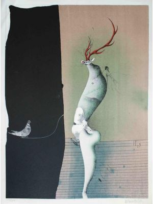 Untitled by Paul Wunderlich - Contemporary Artwork