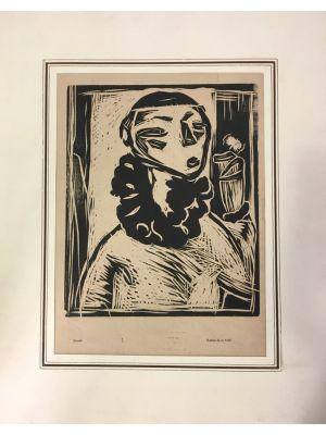 Portrait Of Woman by Arturo Martini - Modern Artwork