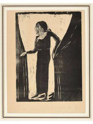 Actress on the Proscenium by Arturo Martini - Modern Artwork