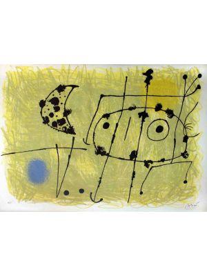 Le Lézard aux Plumes d'Or by Joan Miró - Surrealism