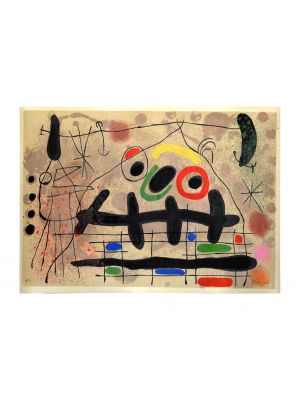 Le Lézard aux Plumes d'Or by Joan Miró - Contemporary Artwork