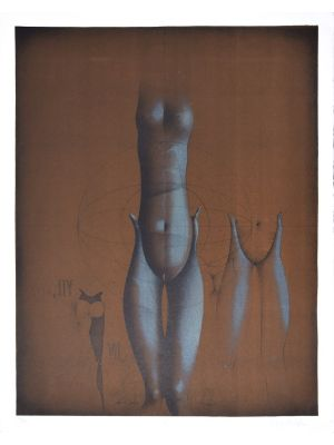 Untitled 7 by Paul Wunderlich - Contemporary Artwork