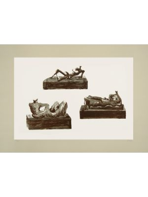 Three Reclining Figures by Henry Moore - Contemporary Art