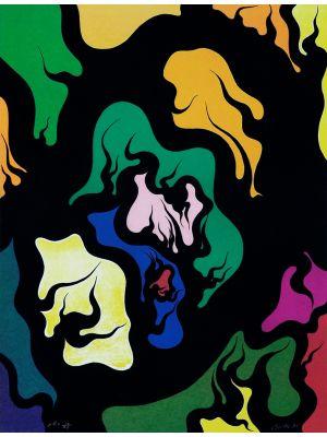 Black Hell by Luigi Boille - Contemporary Artwork