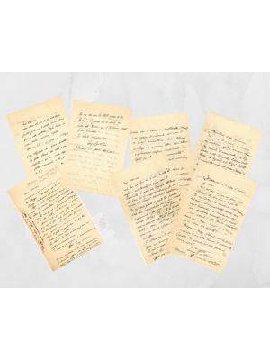 Correspondence Bartolini - Maccari - SOLD