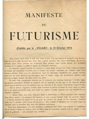 Manifeste du Futurisme