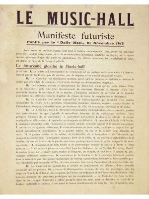 Le Music-Hall - Manifeste Futuriste