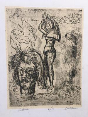 Valeria by Luigi Bartolini - Modern Artworks