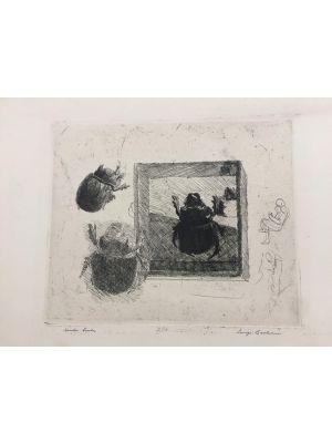 Scarabeo Ercole by Luigi Bartolini - Modern Artwork