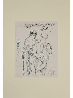 Walk by Pierre Bonnard - Modern Artwork