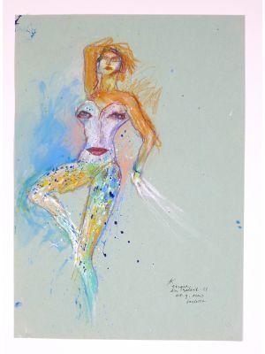 Le Cirque du Soleil by Sergio Barletta - Contemporary Artwork
