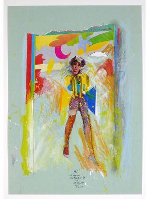 Cirque du Soleil n.23 by Sergio Barletta - Contemporary Artwork