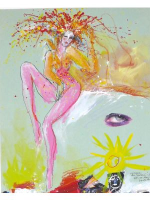 Cirque Du Soleil N.34 by Sergio Barletta - Contemporary Artworks