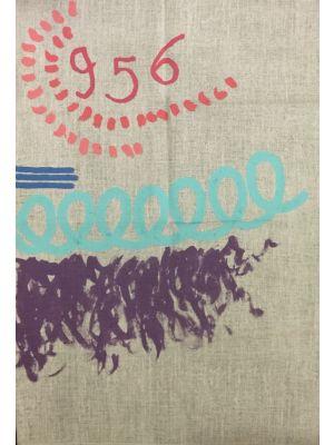 Contemporary art, Artwork,  Painting, Acrylic, Giorgio Griffa, art for sale, art, buy art online, prints, lithograph, online, artworks, artwork, etchings, etching, multiples, artists artwork, purchase artwork, original artworks, buy artwork, affordable ar