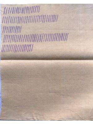 Obliquo by Giorgio Griffa - Contemporary Artwork