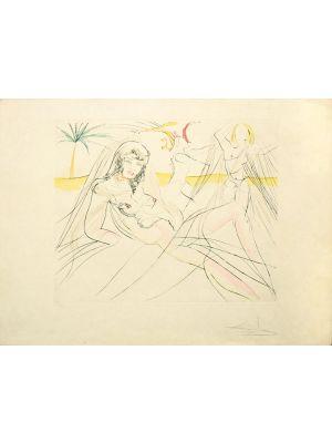 Mort de Cleopatre by Salvador Dalí - Modern Artwork