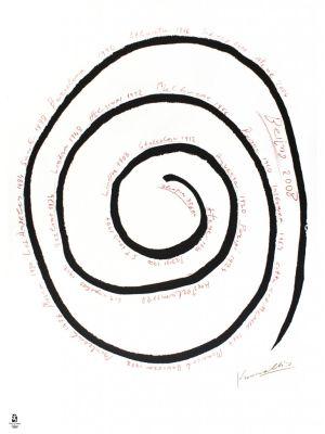 Never Ending Spiral by Jannis Kounellis - Contemporary Art
