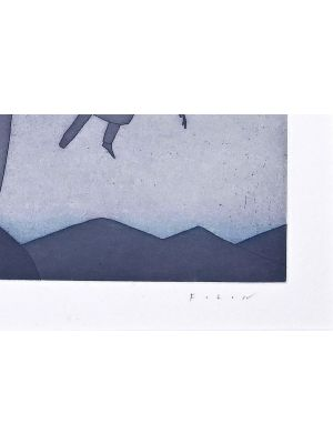 Dream by Jean Michel Folon - Contemporary Artwork