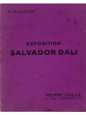 Exposition Salvador Dalì - SOLD