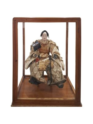 Japanese Samurai Doll by Anonymous - Decorative Object