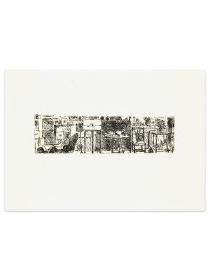 Artist's Studio by Renzo Biasion - Contemporary artwork