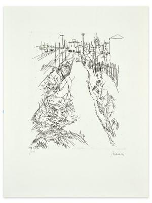 Landscape by Renzo Biason - Contemporary artwork