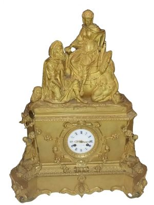 Leroy Table Clock by Anonymous - Decorative Object