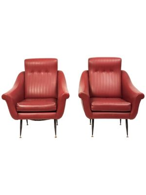 Pair of Armchairs By Anonymous - Design Furniture