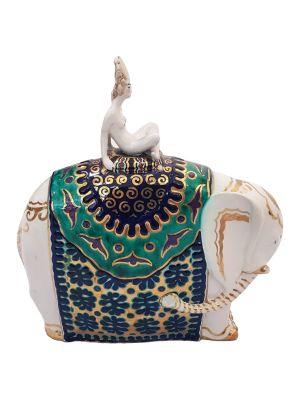 Bayadera on Elephant by Francesco Nonni - Design